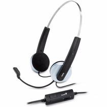 Auricular Genius Con Microfono Hs- 210u Usb Control Volumen