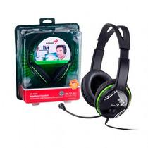 Auricular Con Microfono Genius Hs-400a Headset Pc C/ Volumen