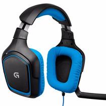 Auriculares Headset Logitech G430 Usb 7.1 C/mic Pc Gamer