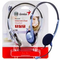 Auriculares Vincha Con Microfono Genius Hs-02b Skype Yahoo