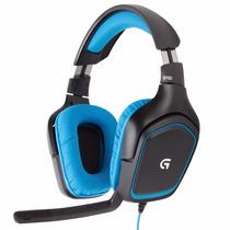 Auricular Logitech G430 Usb 7.1 Gamer Microfono
