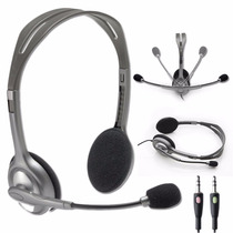 Auriculares Con Microfono Pc Logitech H110 Mini Plug 3,5