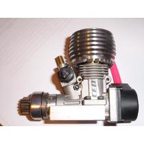Motor Glow Cen .18 Con Pullstart 0km Con Bancada Y Embrague