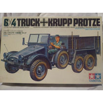 Maqueta 6x4 Truck/krupp Protze, Tamiya, Japan,1978,esc 1/35