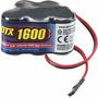Pack De Bateria Duratrax 2012 6 Volt 1600mah!! Auto A Radio