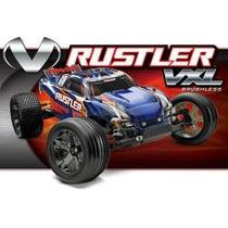 Traxxas Rustler Vxl-tqi-2014 Auto A Radiocontrol