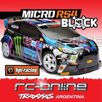Hpi 114192 Hpi Ken Block Ford Fiesta Rx43 De Ken Block 1/18