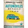 Libro / Automoviles Renault 4- 4l - 4f - 4s / Ed Cosmopolita