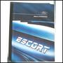 Ford Escort 1991 Manual Instrucciones Orig.