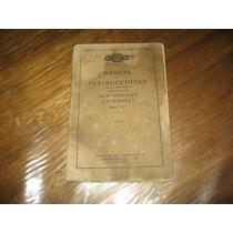 Chevrolet 1929 Manual De Usuario Original ¡oferta!