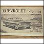Antiguo Libro, Manual Original De Uso: Chevrolet 400 1966