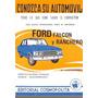 Manual Ford Falcon Y Ranchero Jim White Conozca Su Auto