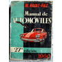 Manual De Automóviles - M. Arias 1967