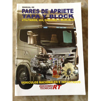 Manual De Pares De Apriete Tapa Y Block Utilitarios, 4x4, C