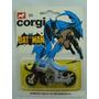 Batman Batimóvil Corgi 1:64 #23 Batcycle Gris 1974 G Britain