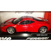 Burago Ferrari 458 Speciale Nueva 1/18- $3000