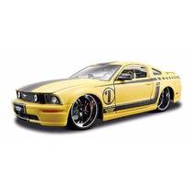 Ford Mustang Gt Pro Rodz Maisto 1/24 Edición All Stars