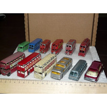 Lote London Bus 12 Colectivos Matchbox Lesney