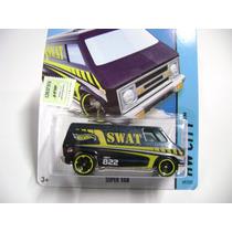 Van Hot Wheels Swat Camioneta Coleccionable Regalo, Autito