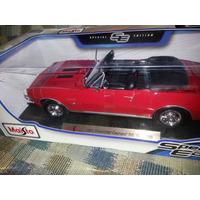 Maisto Chevrolet Camaro 1967 Rs/ss 396- 1/18- $1000
