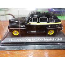 Ixo Altaya 1/43 Taxi Del Mundo Ford Fordor Estambul 1947