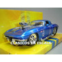 Corvette Stingray 1963 - Blow Engine - Azul - Jada 1/24