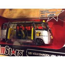 Vw Volkswagen Van Samba Taxi Bus Maisto 1 /24