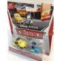 Mattel Disney Pixar Cars 2014 Race Team Luigi & Guido W/head