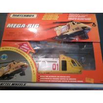 Matchbox Rescue Mattel Helicoptero Autos Autitos Coleccion