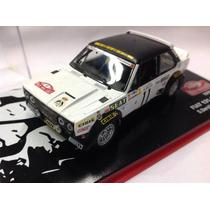 Fiat 131 Abarth Coleccion Replica Metal Caja Acrilica Rally