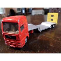 Siku Camion Con Acoplado Man 1/87