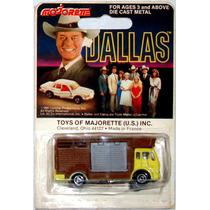 Dallas Camión Majorette Retro Toy Juguete 1981 Vintage