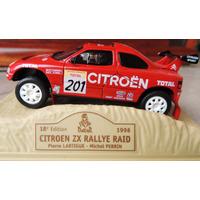 Dakar Citroen Zx 1996 Norev Nuevo En Caja Acrilica Sin Abrir