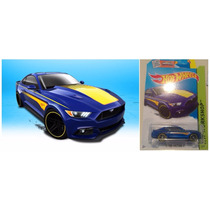 Hot Wheels 15 Ford Mustang Gt 2015 # 247 Solo Envios