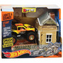 Hot Wheels Pista De Choque Smash La Casa Luz Y Sonido