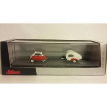 Auto Bmw Isetta Mit Wohnanhage 1:87schuco Milouhobbies A0659