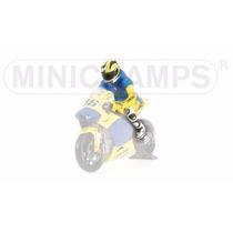 Valentino Rossi Figura Moto Gp 2006 1/12 Minichamps Sachenri