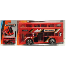 Matchbox Two Story Bus Double Decker Colectivo Solo Envios
