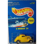 Hot Wheels 3 Window´34 Ford Coupe Early Times 1991