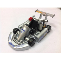 Karting Welly Go Kart Replica Colecciona Escal1/16 De Metal