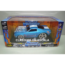 Ford Mustang 1966 Drag Hot Rod - Maisto Muscle Machines 1/24