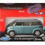 Volkswagen Microbus Vw Minivan Fricción Welly
