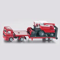 Siku Serie 16- Camión Con Cosechadora
