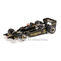 Lotus Ford 79 World Champion Andretti 1978 - Minichamps 1/18