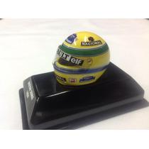 Casco Senna 1994 Replica Coleccion Escala 1/8 F1 En La Plata