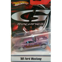 Auto Hot Wheels 66 Ford Mustang Machines G Retro Especial