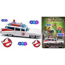 Hot Wheels Ghostbusters Ecto-1 Cartoon Car Cazafantasmas Nmg