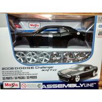 Dodge Challenger Srt8 2008 1:24 Maisto Assemblyline