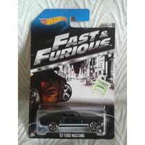 Ford Mustang Rap Y Furioso Hot Wheels Franquito De Vp !!!