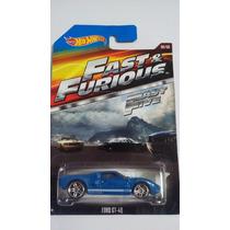 Hot Wheels 2015 Ford Gt- 40 Rápido Y Furioso 5 - Gianmm